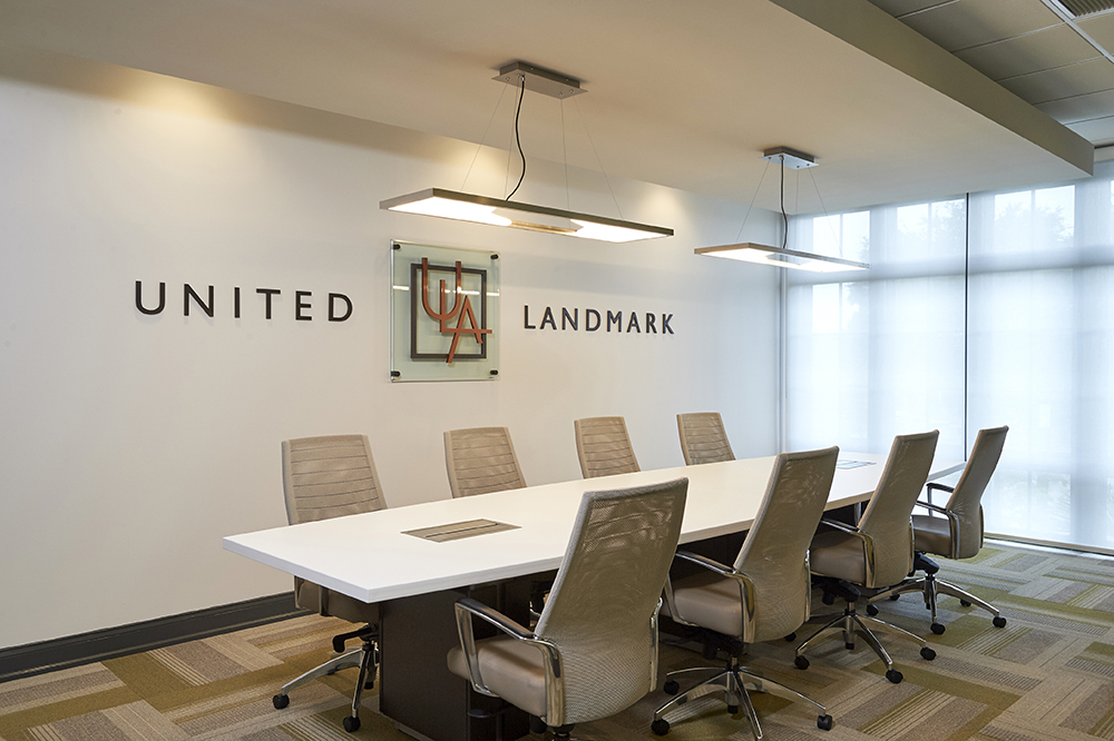 united landmark associates conference room interior