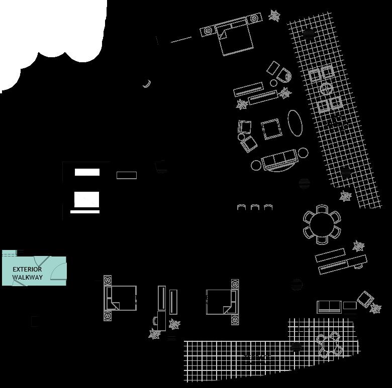Avant residence floorplan