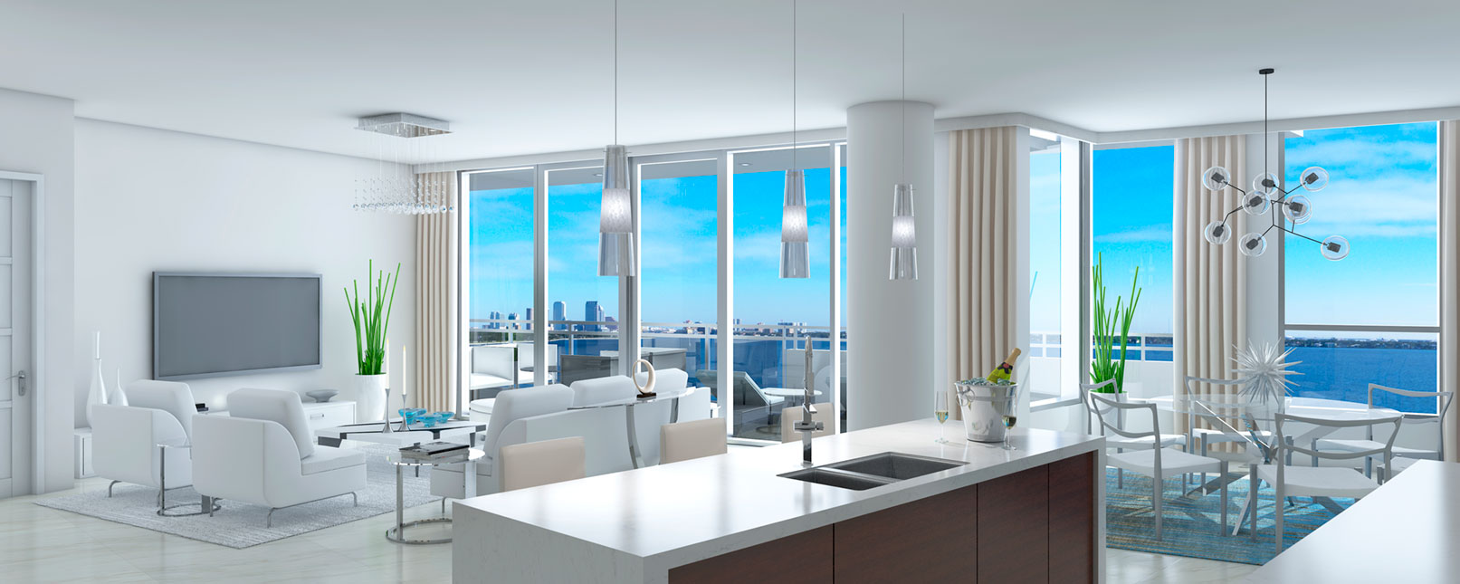 luxury penthouses in tampa for sale the virage condos on bayshore