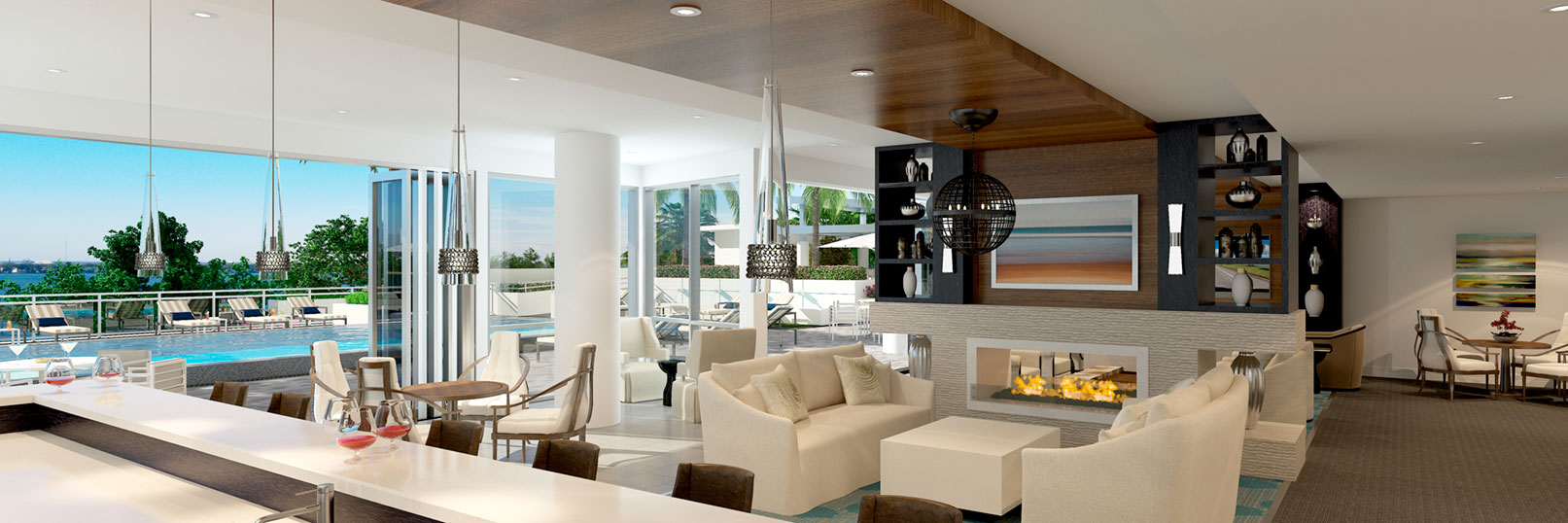 The Virage Bayshore condo interior photo
